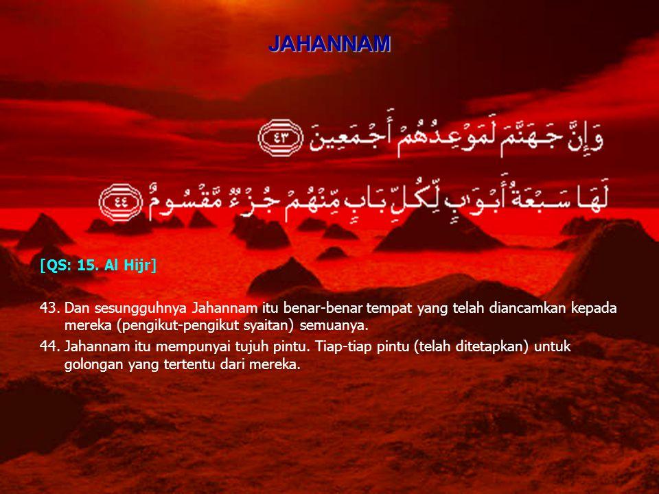 JAHANNAM [QS: 15. Al Hijr]
